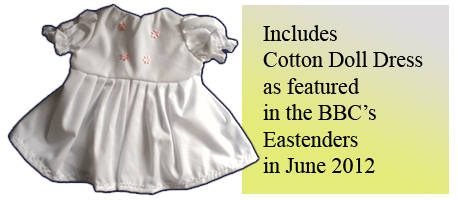 Cotton Doll Dress as featured in Eastenders